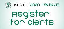 Register for alerts