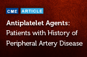 Patients with a History of Peripheral Artery Disease