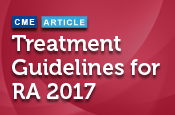 Treatment Guidelines for RA 2017: Implementation and Controversies for Efficacy and Safety