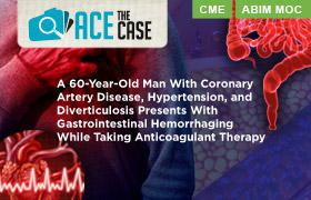 Ace the Case: A 60-Year-Old Man With Coronary Artery Disease, Hypertension, and Diverticulosis Presents With Gastrointestinal Hemorrhaging While Taking Anticoagulant Therapy