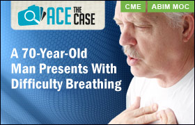 Ace the Case: A 70-Year-Old Man Presents With Difficulty Breathing