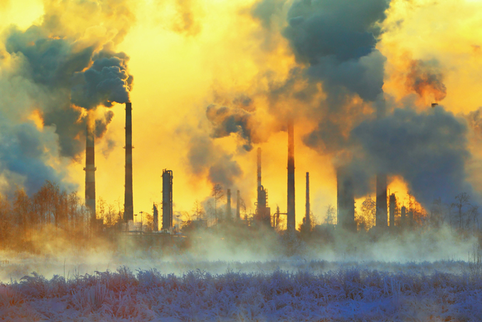 An image depicting enviornmental polluation.