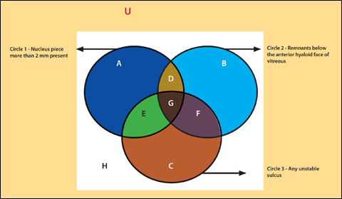 Venn Diagram Charts Course For Decision Making In Cases Of Posterior