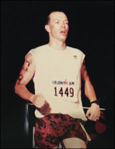 Thomas K. Miller, MD, in Ironman World Championship 1996
