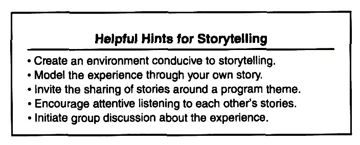 Helpful Hints for Storytelling