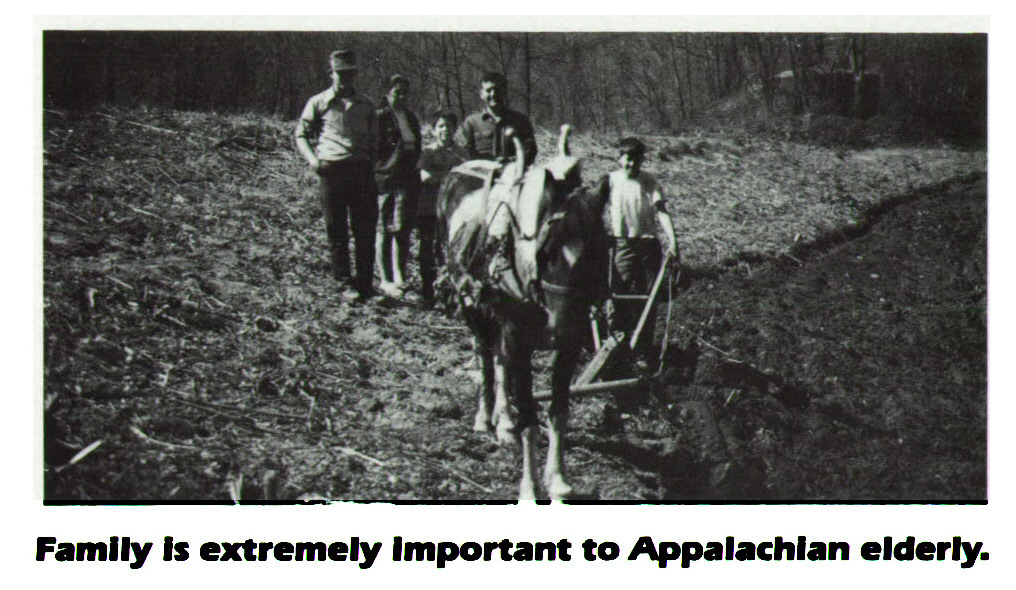 Family Is extremely Important to Appalachian elderly.