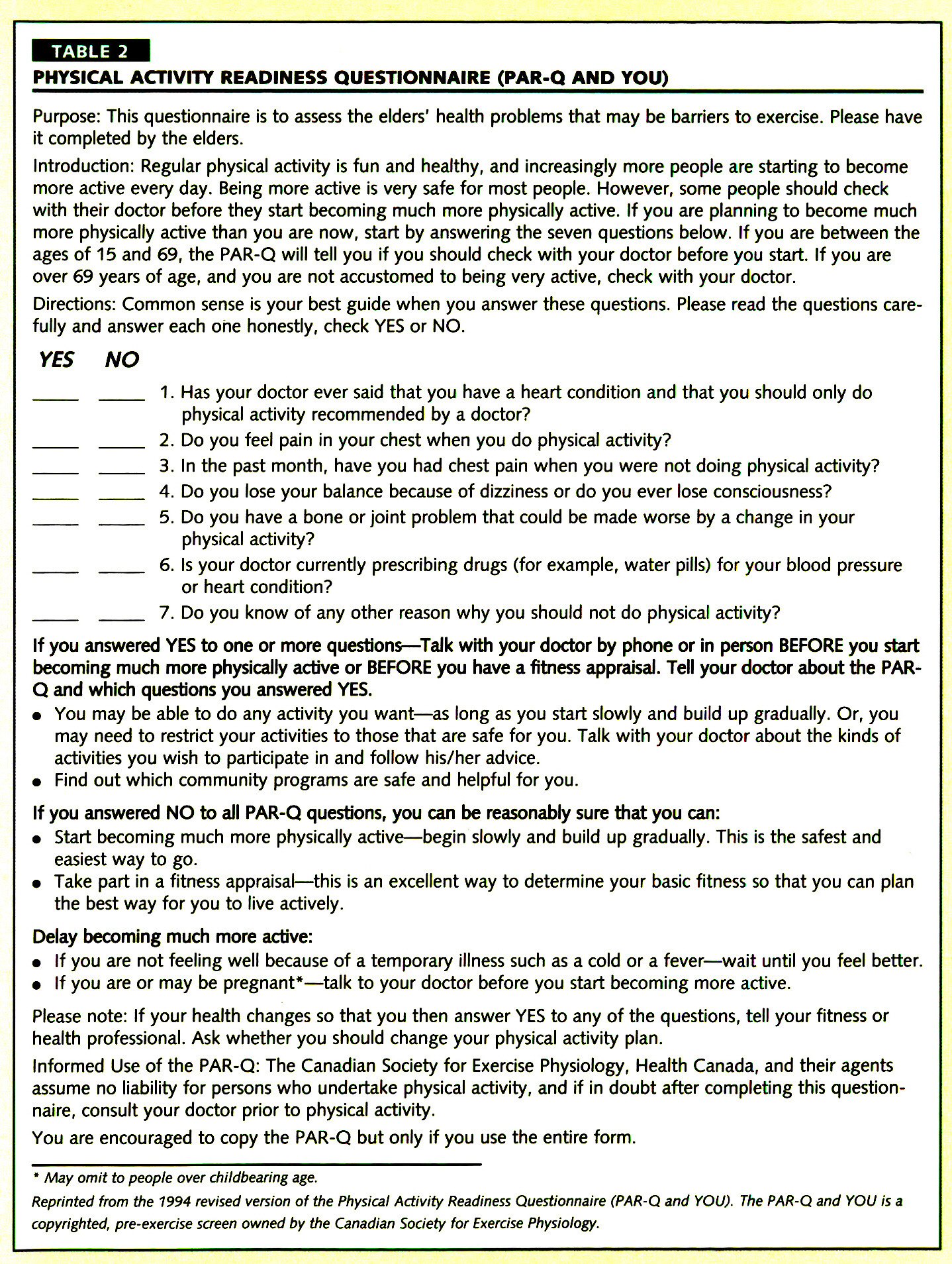 phy 2001 questionnaire 3 this is the final short last 7 days self-administered version of ipaq from the 2000 /01 reliability and validity study completed may 2001 international physical activity questionnaire.