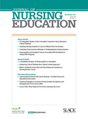 Journal of Nursing Education cover image