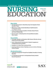 Journal of Nursing Education