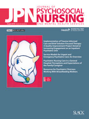 Journal of Psychosocial Nursing and Mental Health Services