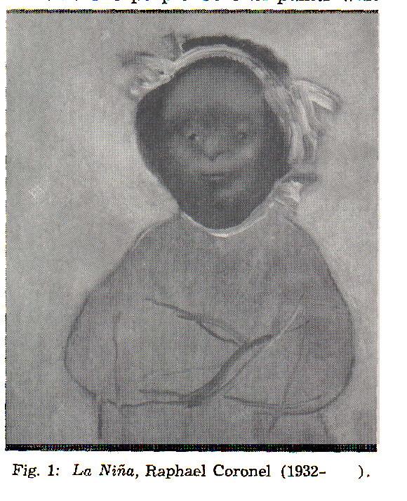 Fig. 1: La Niña, Raphael Coronel (1932- ).