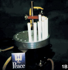 Figure 1B: Twenty cigarettes could be set at one time