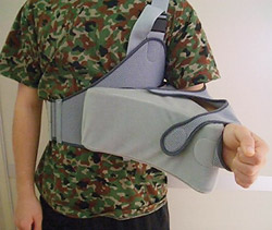 Figure 1: Immobilization in external rotation