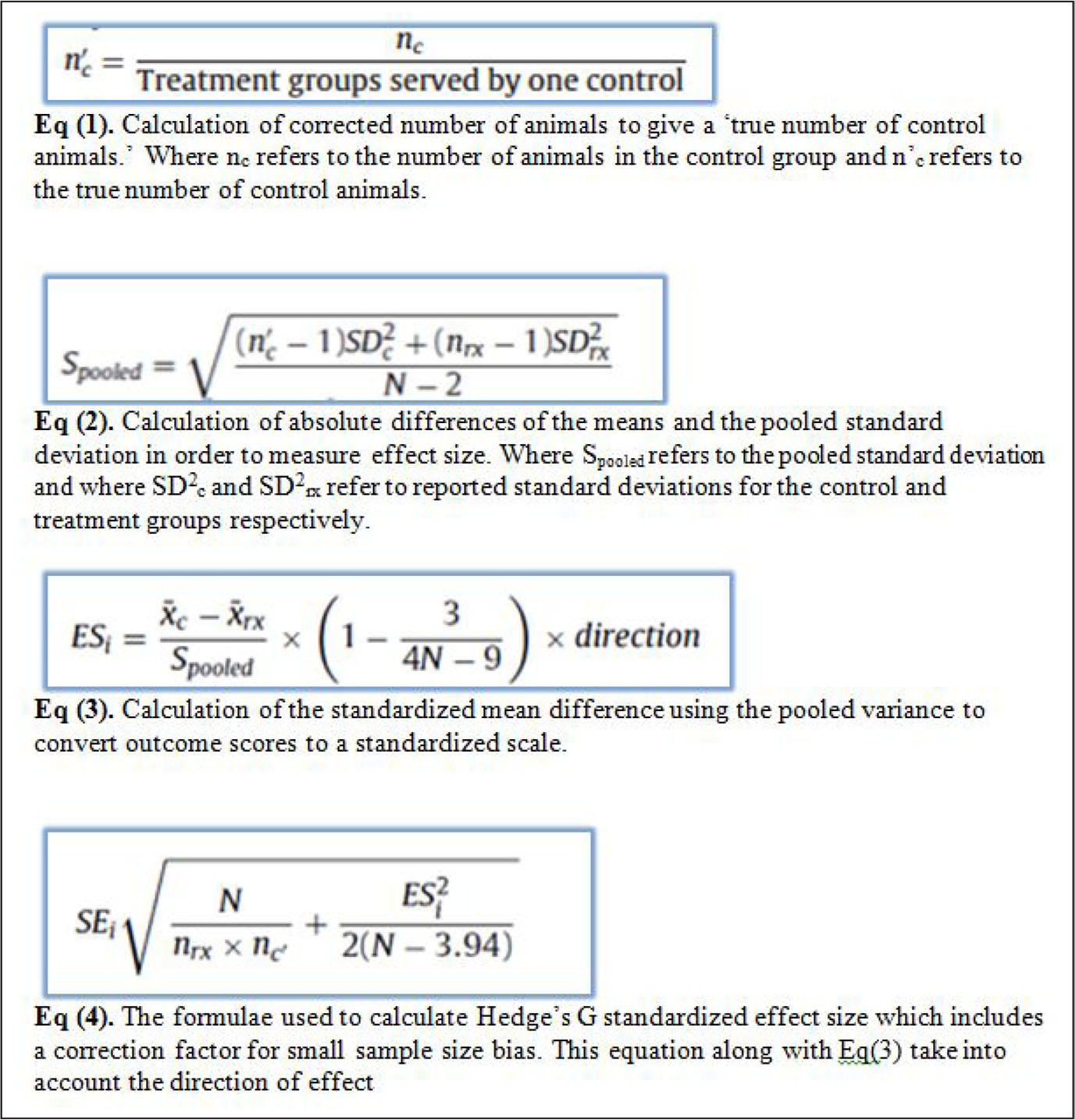 How To Calculate Standard Deviation With Sample Size And Mean