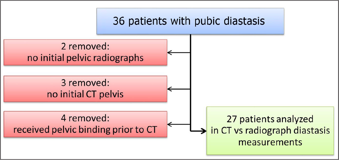 Inclusion and exclusion criteria for patients. Abbreviation: CT, computed tomography.