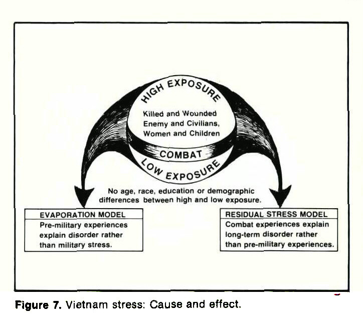 Figure 7. Vietnam stress: Cause and effect.