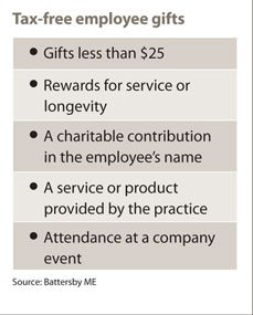 Parties, gifts often qualify for tax deductions