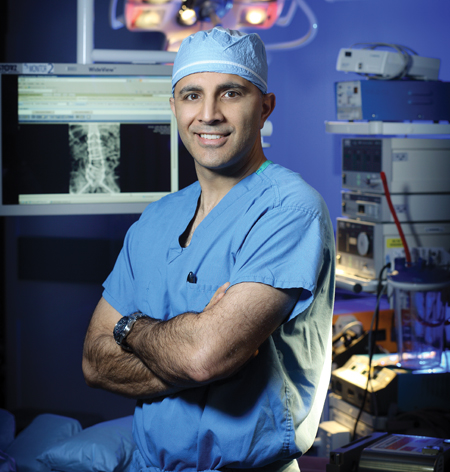 Imaging developments are underway to allow surgeons to visualize more levels during deformity surgery, A. Jay Khanna, MD, MBA, chair of the North American Spine Society radiology section, said.