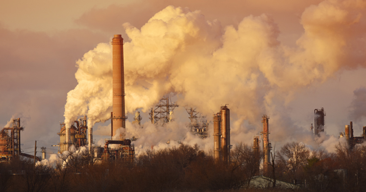 Air Pollution from stacks