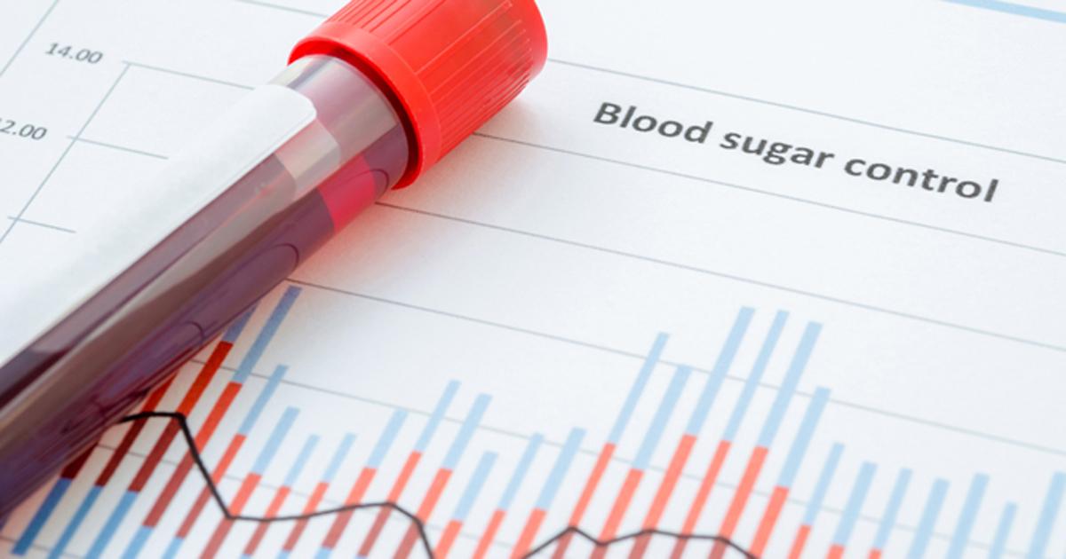 Teste de glicose do diabetes 2 2019
