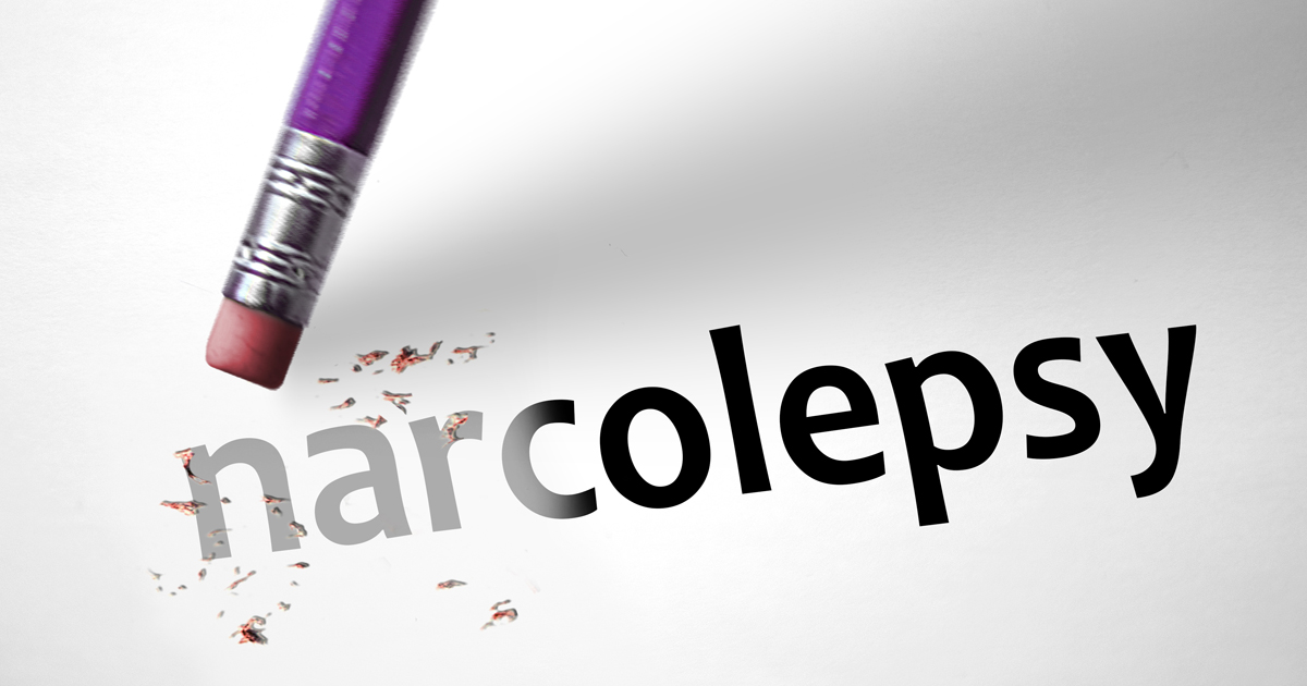Narcolepsy Word Being Erased